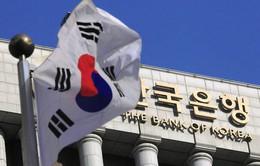 Hàn Quốc: Dự trữ ngoại tệ tăng lần đầu tiên trong 4 tháng