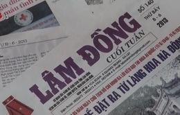 Lâm Đồng: Cấp ấn phẩm báo chí cho đồng bào vùng sâu vùng xa