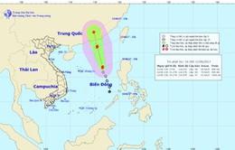 Áp thấp nhiệt đới mạnh lên thành bão số 1 trên Biển Đông