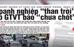 Đề xuất quản lý taxi Hà Nội theo vùng, màu sơn