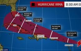 Đường đi của bão Irma
