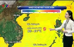 Bão số 10 giật cấp 15 áp sát các tỉnh Bắc miền Trung