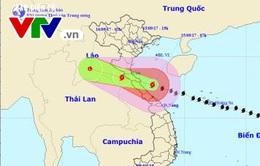 Vùng biển từ Hà Tĩnh đến Quảng Trị có gió giật cấp 15