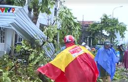 Các địa phương miền Trung thiệt hại trước cơn bão dữ