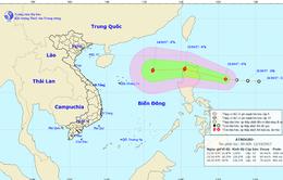 Xuất hiện áp thấp nhiệt đới gần Biển Đông, khả năng mạnh lên thành bão