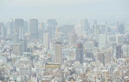 Bão cát vàng ảnh hưởng tới Nhật Bản