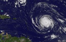 Bão Irma mạnh cấp 4 tiến vào vùng biển Caribe