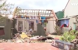 Hà Tĩnh tích cực khắc phục hậu quả bão số 10
