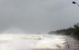 Bão số 10: Nước biển dâng cao, gây ngập ở Nghệ An