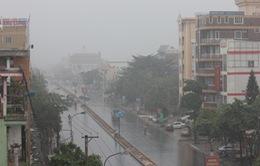 Ảnh hưởng không khí lạnh và bão số 12, các tỉnh từ Quảng Trị đến Bình Thuận có mưa rất to