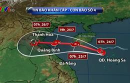 Hà Nội họp khẩn ứng phó cơn bão số 4