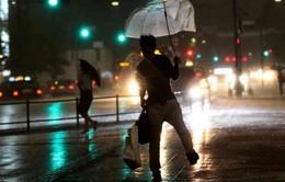 Bão Talim gây mưa lớn kéo dài tại Nhật Bản
