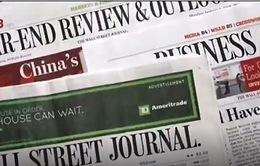 Wall Street Journal dừng bản in tại châu Á và Âu