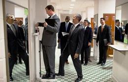 Những hình ảnh hài hước về Tổng thống Obama