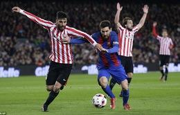 Barcelona chưa hết khổ tại Copa Del Rey
