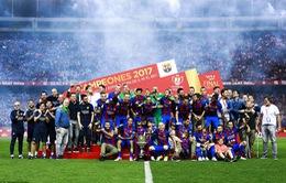 Barcelona khép lại thập kỷ thành công rực rỡ