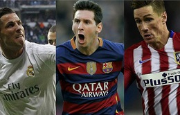 """Real, Barca và Atletico sắp phải trải qua 2 tuần lễ """"điên rồ"""""""