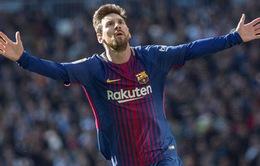 """""""Hạ sát"""" Real, Messi vượt mặt C.Ronaldo, xác lập kỷ lục chưa từng có"""