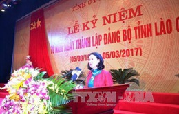 Kỷ niệm 70 năm thành lập Đảng bộ Lào Cai