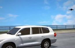 Nissan trình làng máy bay không người lái đi kèm xe địa hình