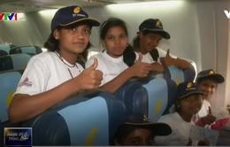 """""""Chuyến bay trong mơ"""" cho trẻ em nghèo Ấn Độ"""
