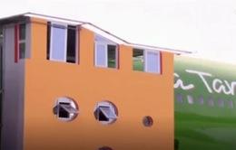 Nhà hàng trên máy bay độc đáo tại Ghana
