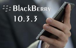 Dòng BlackBerry 10 gặp sự cố khi cập nhật BlackBerry 10.3.3