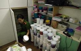 Hà Nội: Bắt giữ 1 tấn mỹ phẩm không rõ nguồn gốc chuẩn bị được đưa vào các Spa
