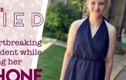 Bé gái Mỹ tử vong vì dùng điện thoại trong phòng tắm