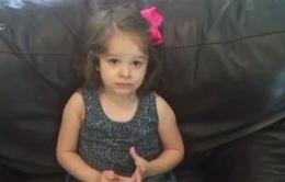 Bé gái 2 tuổi hồi phục thần kỳ sau tổn thương não