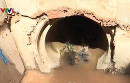 Vụ bé trai bị cuốn trôi ở cống nước: Cống xây không phép