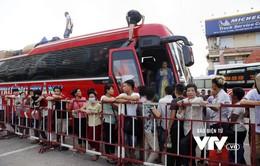 Hàng vạn hành khách tấp nập đổ về bến xe dịp nghỉ lễ 2/9
