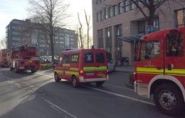 Nổ có kiểm soát bưu kiện chứa thuốc nổ gửi tới Bộ Tài chính Đức