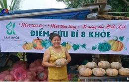 TP.HCM tiêu thụ 40 tấn bí đỏ giúp nông dân Đăk Lăk