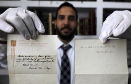 Bí quyết sống hạnh phúc trên bức thư được đấu giá của Einstein