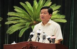 Kỷ luật cảnh cáo đồng chí Đinh La Thăng, cho thôi giữ chức Ủy viên Bộ Chính trị