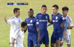 Vòng 9 V.League 2017, B.Bình Dương 0 - 1 CLB Quảng Nam: Chủ nhà mất điểm phút cuối!