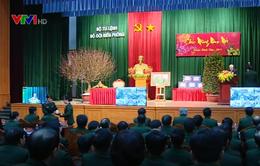 Tổng Bí thư thăm, làm việc và chúc Tết Bộ Tư lệnh bộ đội biên phòng