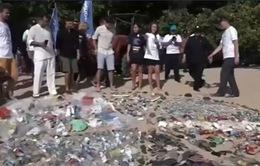 Phát động chiến dịch làm sạch biển tại Indonesia