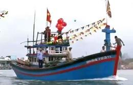Lễ hội ra quân nghề cá của ngư dân Quảng Ngãi