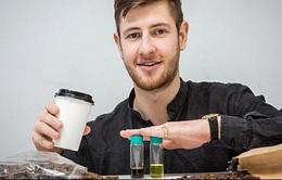 Bã cà phê sắp biến thành... nhiên liệu sinh học