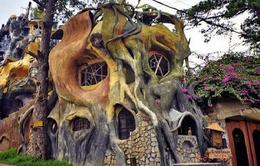 Khám phá kiến trúc kỳ dị của biệt thự Hằng Nga ở Đà Lạt
