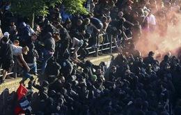 Biểu tình trước thềm Hội nghị G20, 76 cảnh sát Đức bị thương