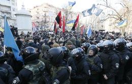 Đụng độ giữa cảnh sát và người biểu tình tại Ukraine