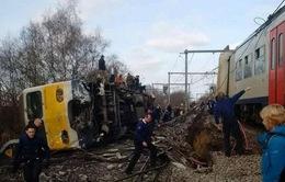 Tai nạn tàu hỏa ở Bỉ, hàng chục người thương vong
