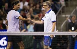 Roger Federer và Bill Gates đánh cặp với nhau tại giải đấu từ thiện