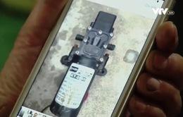 Bình bơm thuốc trừ sâu bị giả nhãn hiệu, thay vỏ, đổi ruột