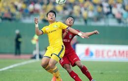 Xem lại hai chiến thắng của Sông Lam Nghệ An trước Becamex Bình Dương mùa 2016