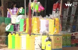 Chỉ khoảng 1/3 bình bơm thuốc trừ sâu nhập khẩu được chứng nhận hợp quy