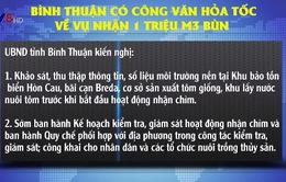 Bình Thuận gửi công văn hỏa tốc việc nhận chìm bùn thải